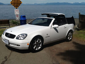 HARD TOP 1999 Mercedes-Benz Convertible