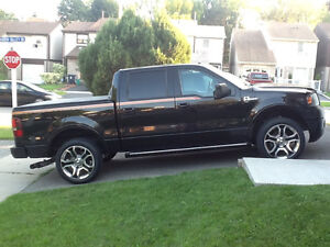 2008 Ford F-150 SuperCrew Orange Trim Pickup Truck