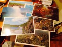 Collection of 21 Vintage Laminated Tourism Placemats