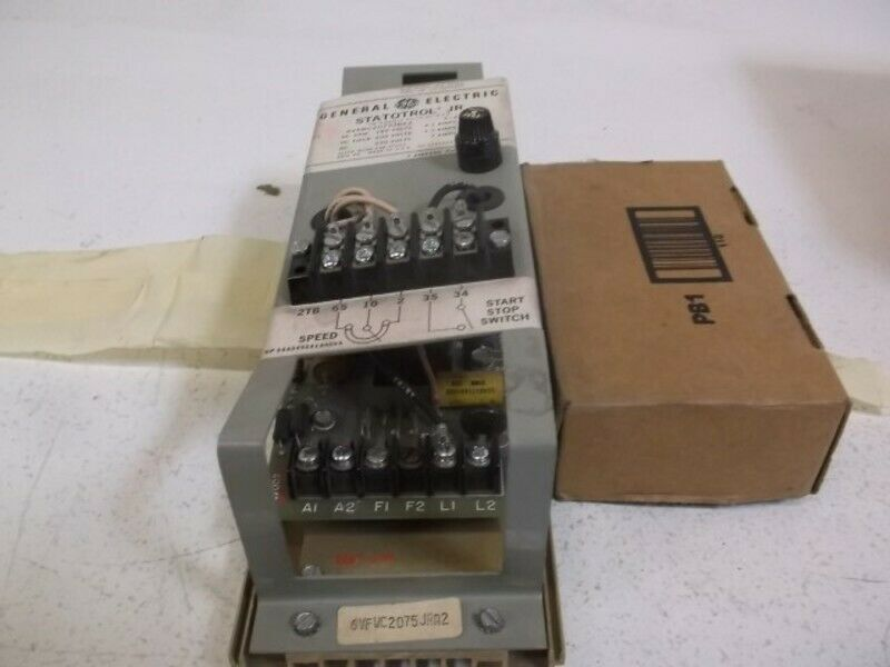 GENERAL ELECTRIC 6VFWC2075JRA2 MOTOR CONTROLLER * USED *