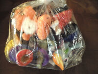 Bag of Little People and Other Little Toys