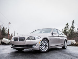 2012 BMW 5-Series 535i xDrive Sedan AWD - Excellent Condition