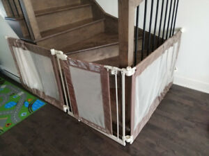 Barriere Summer Infant custom fit gate
