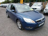 Ford Focus 1.6 Style 5dr (blue) 2008