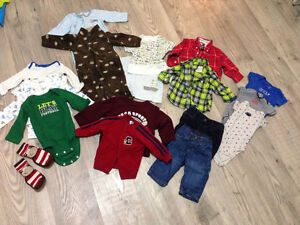 Baby Boy Clothes Size 6-12 months