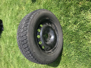 "Bridgestone Blizzak WS80 17"" Winter Tires (On Rims)"