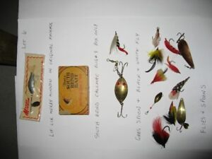 24. Fishing - Antique fishing lures for sale Lot 6: