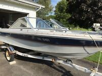 14' boat, motor and trailer