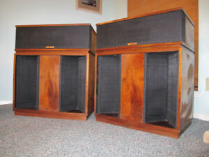 Klipsch Belle Horn Loaded Speakers - Gorgeous Sounding!
