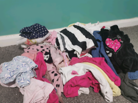 Size 80-86 baby girl clothes