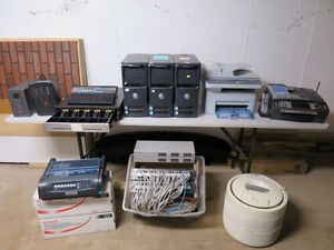 Office Equipment, Chairs, Computers, POS System, etc...Must sell