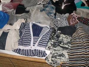 Brand Name Clothing Bundle / all for 80 , mostly small , some m.