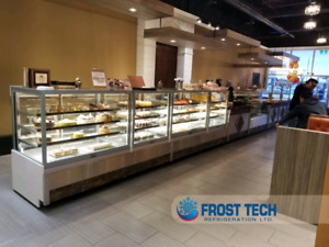 Pastry, Bakery Cases, Gelato Freezer, Deli, Meat, Fish,