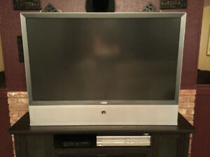 """50"""" TV and matching stand"""