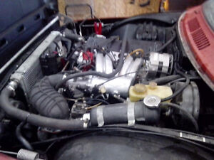 1975 saab 99 project  no rust engine is /running