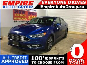 2017 FORD FUSION *HEATED SEATS/COOLING SEATS*LEATHER INTERIOR*SU