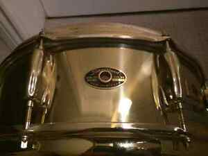 "Slingerland *Black Gold"" 14"" x 5"" Snare Drum W/May Internal Mic"