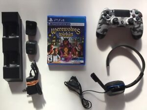 Manette, Casque micro, Chargeur, Werewolves Whithin VR…
