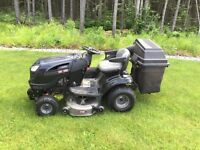 """Craftsman 2013 24hp 42"""" lawn tractor with 40"""" snow blower! SOLD!"""