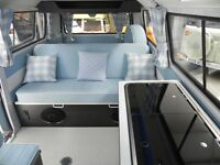 Leisure and Marine Upholstery - Campervan, Caravan & Motorhome Interiors & Pop Up Roofs