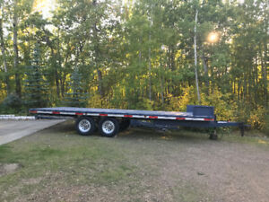 All Aluminum Tandem 8 X 20 with Ramps