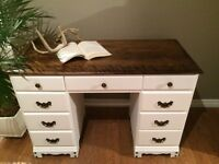 NEW PRICE Beautiful Vintage Desk