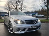 Mercedes C Class C 63 AMG (silver) 2008