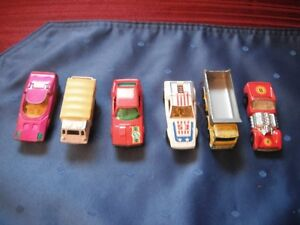 Matchbox toys by Lesney (made in England)