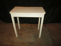 Small Enamel Top Table