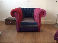 Portobello interiors Chesterfield armchair