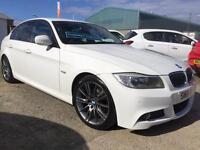 DEPOSIT TAKEN BMW 320 2.0TD 2011 61 D Sport Plus White with Black leather