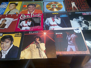 ELVIS PRESLEY VINYL LP COLLECTION SET 4 - 12 TITLES FANS ONLY!!!