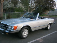 1974 Mercedez-Benz 450 SL Convertible **Reduced**