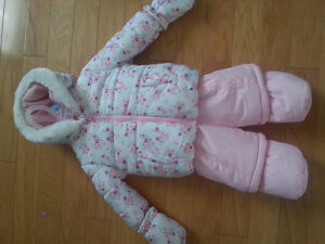 Girl's Snow Suit