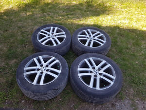 Used VW Jetta TDI Rims and Tires for sale, $300 OBO