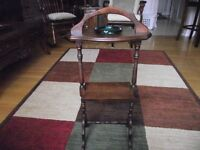 ANTIQUE SMOKER'S TABLE!!