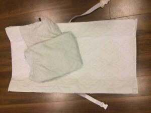 Diaper change pad and 2 covers