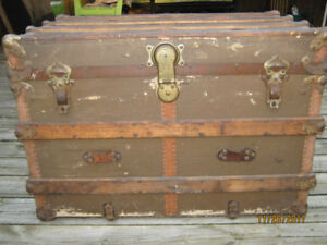 Steamer Trunk from the 1800's (Decor)