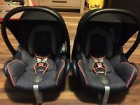 Phil and Teds dash(2015) grey marl. Complete travel system. Immaculate.