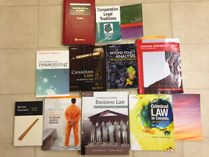 Law Textbooks for Sale- Justice Studies Program at Royal Roads