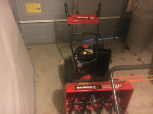 "26"" Snow blower for sale"