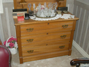 3 piece antique oak bedroom set late 1800's Oakville / Halton Region Toronto (GTA) image 6