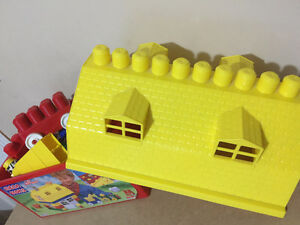 Mega Bloks Lil' Farmer with storage house