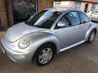 2002 Volkswagen Beetle 2.0 RHD - MOT: 10 Dec (no advisories) 4 New Tyres - 2 Key