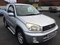 2003 53 Toyota RAV4 1.8 great condition