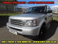2008 Land Rover Range Rover Sport 2.7TD V6 Auto S - KMT Cars