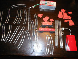 train set from the 1950's