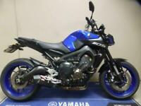 2018 68 Yamaha MT-09 Blue