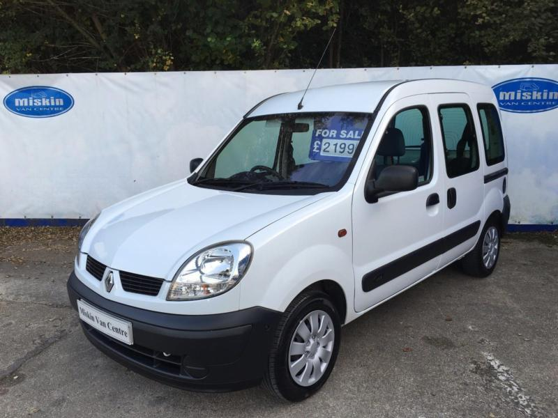 2004 Renault Kangoo 1.5dCi 80 Authentique Diesel Disabled/Wheelchair Access Car