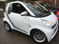 Smart ForTwo 0.8 PASSION CDI AUTO (white over palladium silver) 2012
